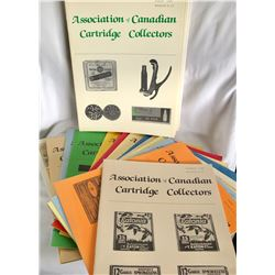LARGE COLLECTION OF MAGAZINES FOR THE CANADIAN CARTRIDGE COLLECTORS