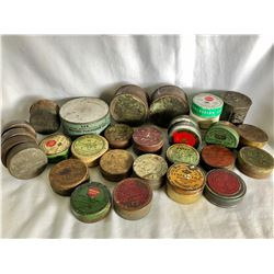 LARGE COLLECTION OF ANTIQUE PERCUSSION CAP TINS
