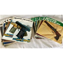 LARGE COLLECTION OF GUN REVIEW MAGAZINES