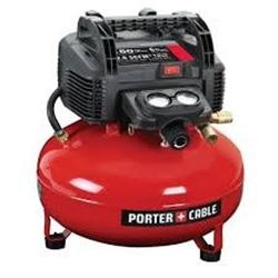NEW PORTER CABLE PANCAKE AIR COMPRESSOR