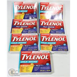 BAG OF ASSORTED TYLENOL