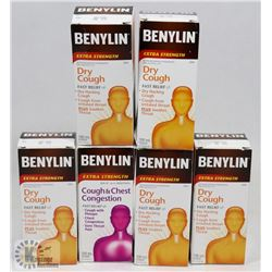 BAG OF ASSORTED BENYLIN