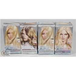 BAG OF ASSORTED L'OREAL FERIA HAIR DYE