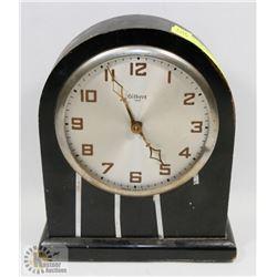 GILBERT 1807 WOOD MANTLE CLOCK