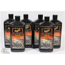 CASE OF MEGUIARS PREMIER CLEANER/WAX