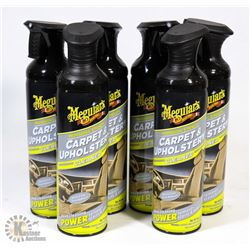 CASE OF MEGUIARS CARPET & UPHOLSTERY CLEANER.