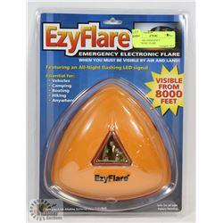 EZYFLARE EMERGENCY ELECTRONIC FLARE.