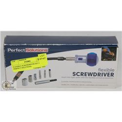 FLEXIBLE SCREWDRIVER SET BY PERFECT SOLUTIONS.