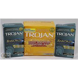 BAG OF TROJAN CONDOMS