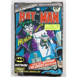 DC COMICS BATMAN LUMINART FREESTANDING OR WALL