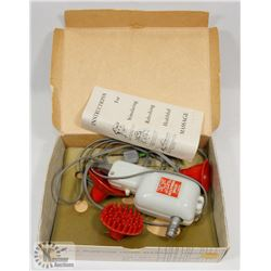 VINTAGE WAHL ELECTRIC MODEL E MASSAGER
