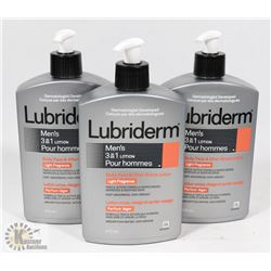 BAG OF LUBRIDERM MENS LOTION