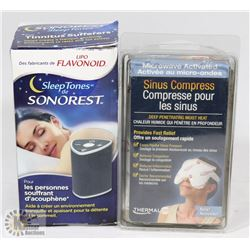 BAG WITH SINUS COMPRESS AND SONOREST SLEEP TONES