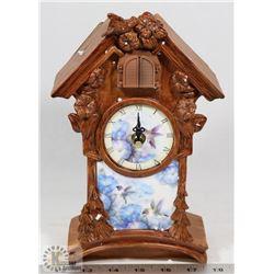 NEW HUMMINGBIRD CUCKOO CLOCK.