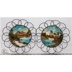 LOT OF TWO NAPCO BY GIFTCRAFT ORIGINALS WALL