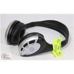 E-ZONE WIRELESS FM HEADPHONES WITH ANTENNA BUILT