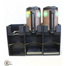 2 ZOJRUSHI COFFEE DISPENSERS W/ STANDS