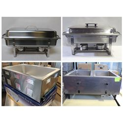 FEATURED LOTS: CHAFERS & FOOD WARMERS