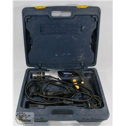 MASTERCRAFT DRILL AND DRILL BIT SET IN CASE