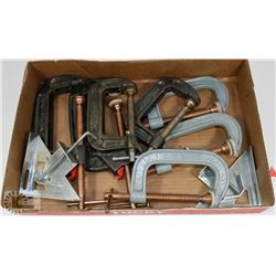 """FLAT OF """"C"""" CLAMPS"""