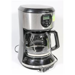 BLACK AND DECKER STAINLESS STEEL 5 CUP BLACK