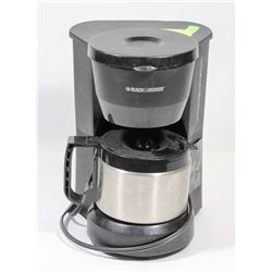 BLACK AND DECKER STAINLESS STEEL 4 CUP COFFEE