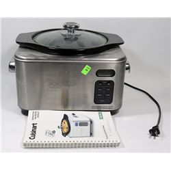 CUISINART S/S SLOW COOKER PROGRAMMABLE