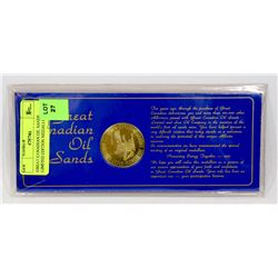 GREAT CANADIAN OIL SANDS LIMITED EDITION MEDALLION