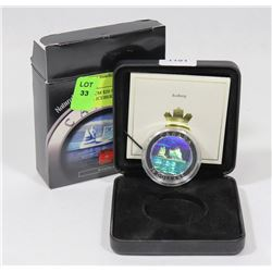 2004 RCM $20 SILVER HOLOGRAM COIN - ICEBERG