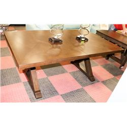 WOOD TONE KITCHEN TABLE - ON CHOICE