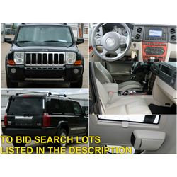 FEATURED 2006 JEEP COMMANDER