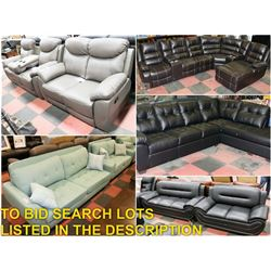 FEATURED NEW COUCH SETS AND SECTIONALS