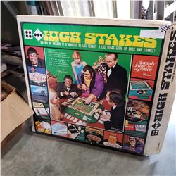 ANTIQUE HIGH STAKES POKER GAME