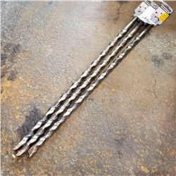 "3 DIAGAR 1/2"" x 18"" SDS CONCRETE DRILL BITS"