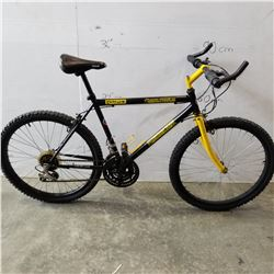 BLACK AND YELLOW MOUNTAIN TOUR CANYON RUNNER DX BIKE