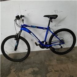 BLUE MONGOOSE BIKE