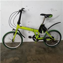 GREEN K-ROCK FOLDING BIKE
