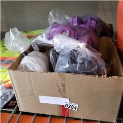 LOT OF RESPIRATOR MASKS AND FILTERS