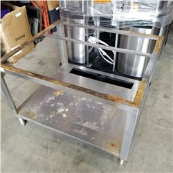 STAINLESS STEEL EQUIPMENT BASE