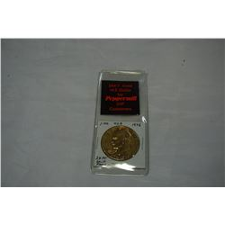 1976 USA IKE DOLLAR 24KT GOLD FOR VIP CUSTOMERS