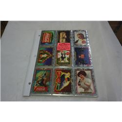 1995 SUPER PREMIUM COLLECTION OF COCA COLA CARDS COMPLETE RARE SET OF 60 CARDS