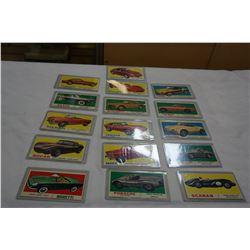 RACE CAR CARDS