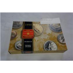 1999 SPECIMEN COIN SET