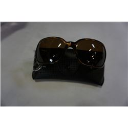 AUTHENTIC RAY BAN SUNGLASSES POLARIZED MODEL 4068 642/57 W/ CASE AND CLOTH - RETAIL $233