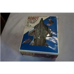 BATTERY OPERATED REMOTE CONTROL ROBOT AIR PLANE TOY