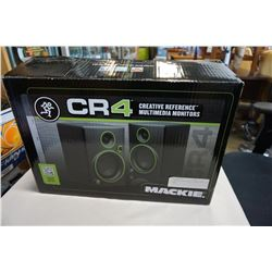 CR4 MACKIE MULTIMEDIA MONITORS IN BOX
