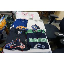 LOT OF 5 HOCKEY JERSEYS