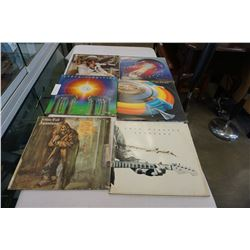 ELTON JOHN, JOURNEY, JETHRO TULL, AND OTHER RECORDS