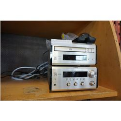 YAMAHA DVD PLAYER AND RECEIVER