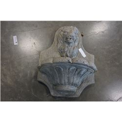 CEMENT LION FOUNTAIN